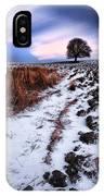 Tree In A Field  IPhone Case