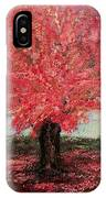 Tree In Fall IPhone Case