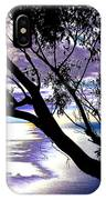 Tree In Silhouette IPhone Case