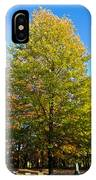 Tree In The Cemetery IPhone Case