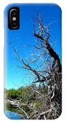 Tree In The Marsh IPhone Case
