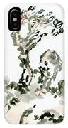 Tree In The Wind IPhone Case