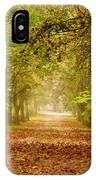 Tree Lane IPhone Case