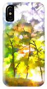 Tree Leaves IPhone Case