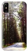Tree Lined Road IPhone X Case
