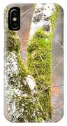 Tree Moss Abstract IPhone Case