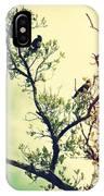 Tree Of Crows II Lights IPhone Case