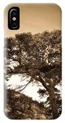 Tree Of Life In Sepia IPhone Case