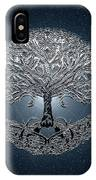Tree Of Life Nova Blue IPhone Case