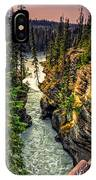 Tree On The Edge Of A Cliff IPhone Case