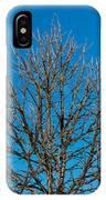 Tree Profile IPhone Case