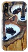 Tree Raccoons IPhone Case