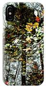 Tree Reflected In Leaves IPhone Case