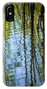 Tree Reflections On A Pond In West Michigan IPhone Case