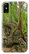 Tree Roots On Rock IPhone Case