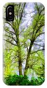Tree Tops Iv IPhone Case