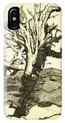 Tree Trunk By The Sea IPhone Case