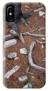 Tree Trunk Roots And Rocks IPhone Case