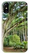 Tree-waimea Arboretum IPhone Case
