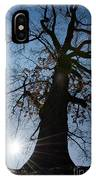 Tree With Sun IPhone Case