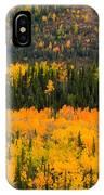 Trees Ablaze IPhone Case