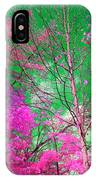 Trees Alive In Pink IPhone Case