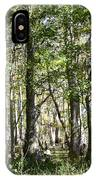 Trees And Knees IPhone Case