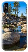 Trees And Rocks IPhone Case