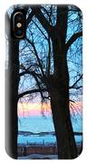 Trees And Sunset IPhone Case