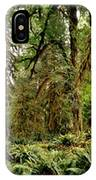 Trees At Olympic National Forest IPhone Case