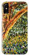 Trees At Sunset In Lafayette Park IPhone Case