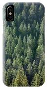 1a9502-trees Lit Up, Wy IPhone Case