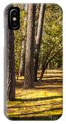Trees In A Park IPhone Case