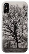 Trees In November IPhone Case