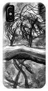 Trees In The Wind IPhone Case