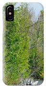 Trees On A Lakeshore IPhone Case