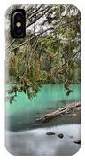 Trees Overhanging Cheakamus Lake IPhone Case