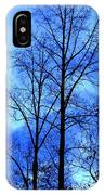 Trees So Tall In Winter IPhone Case