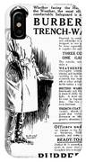 Trench Coat, 1917 IPhone Case