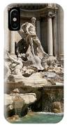 Trevi Fountain In Rome Italy IPhone Case