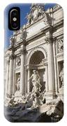 Trevi Fountain Rome IPhone Case