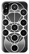 Tri-kabalah Chart IPhone Case