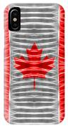 Triband Flags - Canada IPhone Case