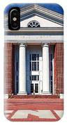 Trible Library Christopher Newport University IPhone Case
