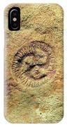 Tribrachidium Fossil IPhone Case