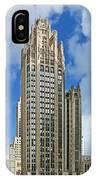 Tribune Tower - Beautiful Chicago Architecture IPhone Case