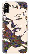 Tribute To Marilyn Monroe IPhone Case