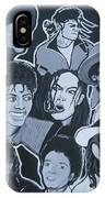 Tribute To Michael Jackson IPhone Case