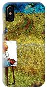 Tribute To Vincent Van Gogh - His Final Days IPhone Case