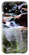 Trickle Down The Mountain IPhone Case